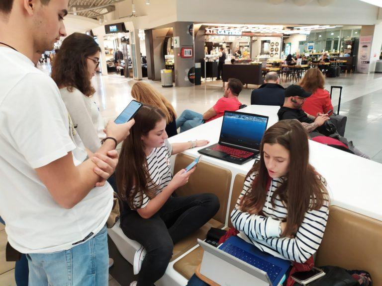 Rever Apresentações Aeroporto Atenas